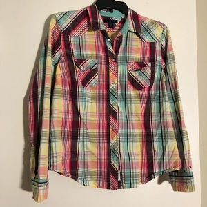 Multicolor Plaid Shirt